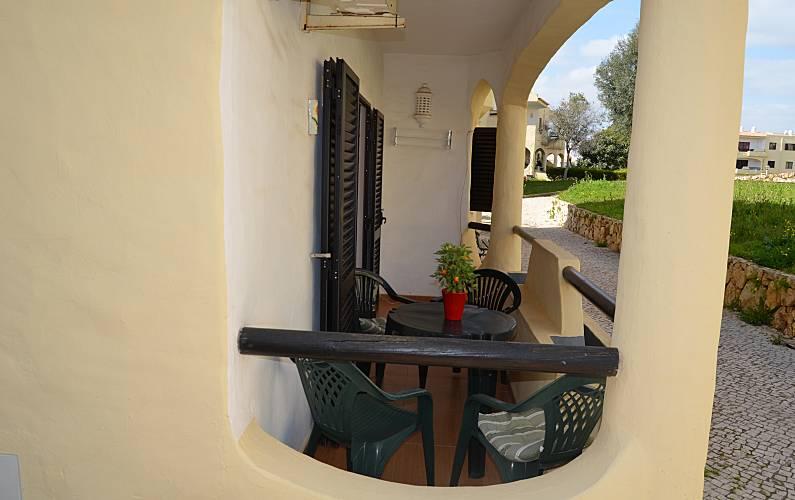 T1 Terraço Algarve-Faro Portimão Apartamento - Terraço