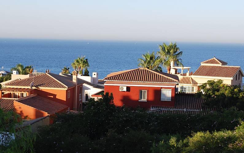 Casa de 4 habitaciones a 1000 m de la playa Málaga - Vistas desde la casa