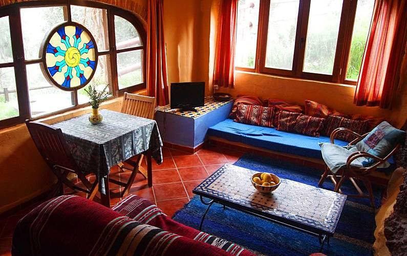 Andalusí-style Living-room Granada Lanjarón Apartment - Living-room