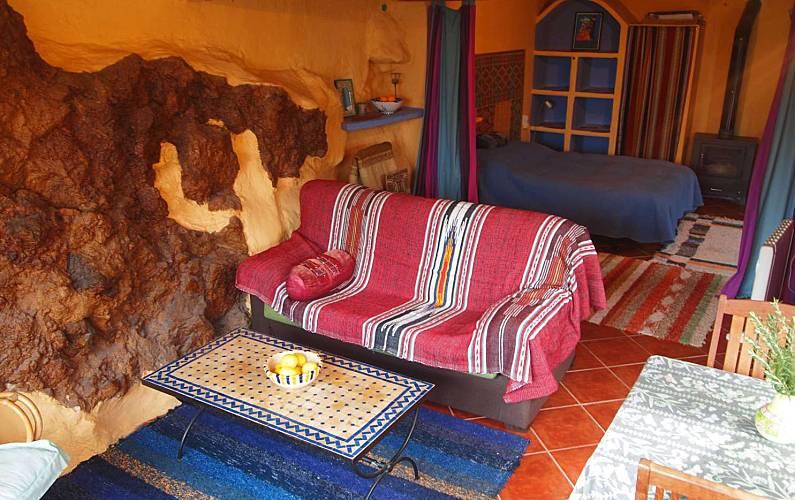 Andalusí-style Bedroom Granada Lanjarón Apartment - Bedroom