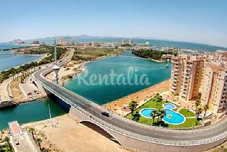 2 Apartments with 2 bedrooms only 50 meters from the beach Murcia