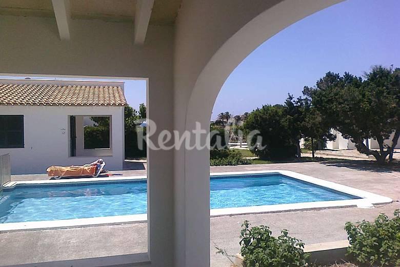 Casa en alquiler a 50 mts del mar calan blanes - Casas en menorca ...