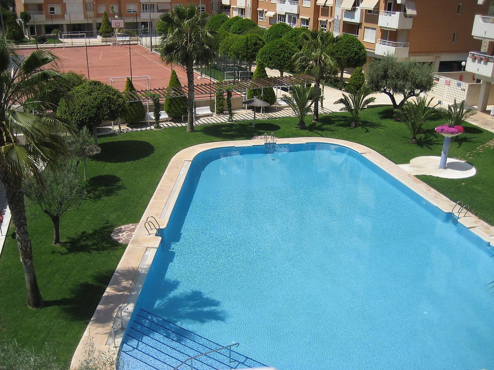 Playa san juan apartamento playa y piscina alicante for Piscina alicante