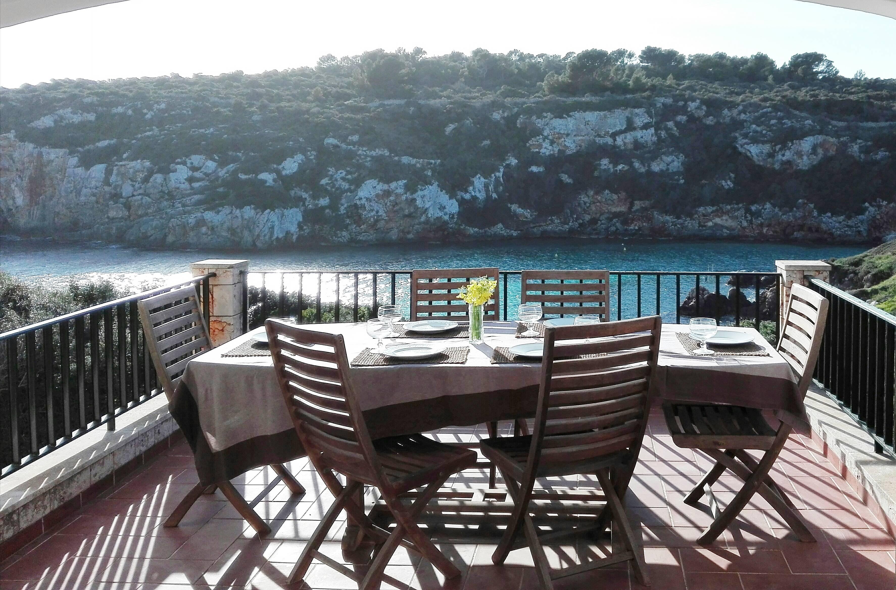 Villa En Menorca Primera Linea De Mar Es Canutells Es Canutells  # Muebles Menorca Mahon