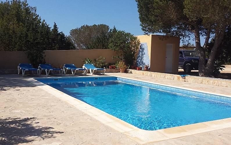 Badkamer Op Formentera : Huis voor 6 personen op 500 meter van het strand formentera