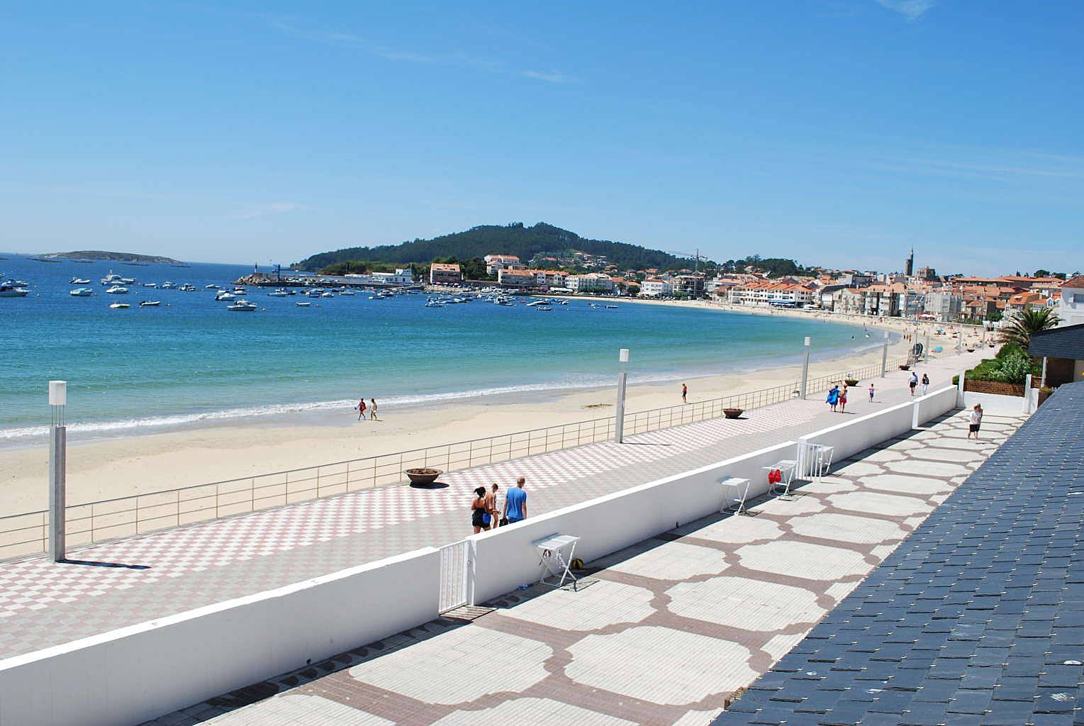 2 apartamentos en alquiler en 1a l nea de playa panxon nigr n pontevedra - Alquiler de apartamentos en playa ...