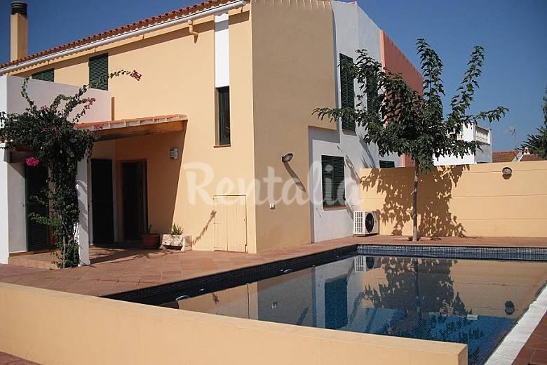 Casa en alquiler a 100 m de la playa calan blanes ciutadella de menorca menorca - Casas de alquiler en blanes ...