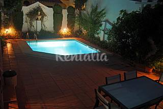 house + pool and fireplace +parking in the center  Granada