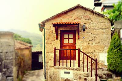 Casa em Pedra na Aldeia para 2 pessoas( Gerês) Viana do Castelo