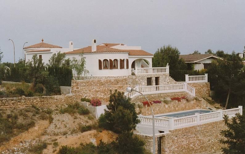 villa pour 10 personnes en catalogne cap roig l 39 ampolla tarragone costa dorada. Black Bedroom Furniture Sets. Home Design Ideas