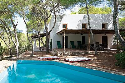 Villa de 5 habitaciones a 500 m de la playa Formentera
