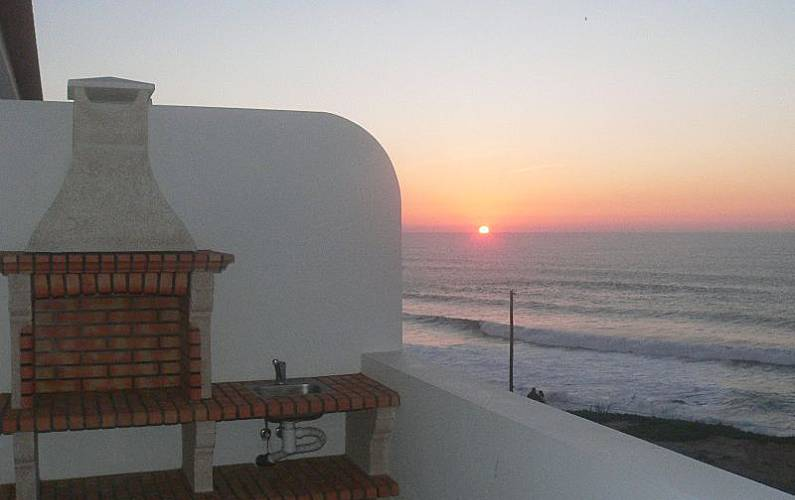 Apartamento com 1 quarto a 300 m da praia Beja - Terraço