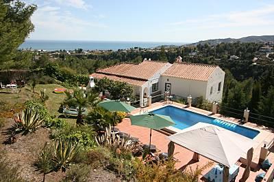 Villa para 10-12 personas a 4 km de la playa Málaga