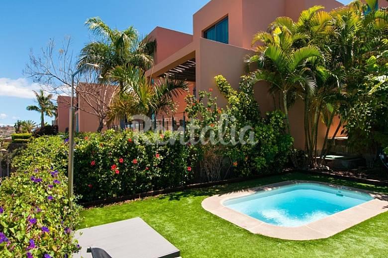 Villa para 4 personas con piscina el vento mog n gran - Villas en gran canaria con piscina ...