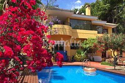 Espléndida Villa con vistas al mar en Palma  Mallorca