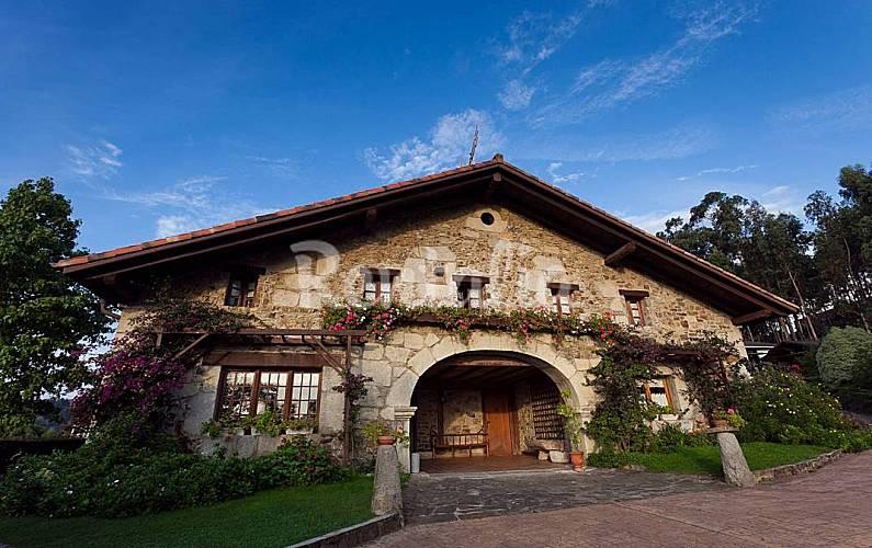 5 Exterior del aloj. Vizcaya/Bizkaia Ea Casa en entorno rural - Exterior del aloj.