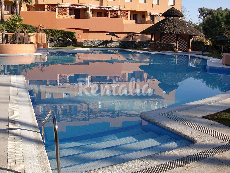Casa de 2 habitaciones a 500 m de la playa islantilla i - Rentalia islantilla ...