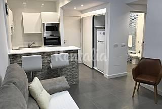 Apartment with 1 bedroom on the beach front line Málaga