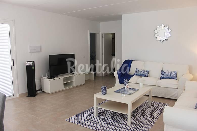 Close Living-room Tenerife Adeje villa
