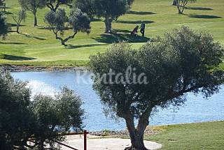 House for 4 people in a golf course Cádiz