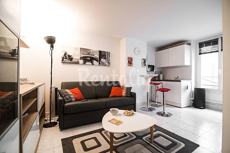 wohnung f r 2 personen in paris 17e paris 17e paris paris. Black Bedroom Furniture Sets. Home Design Ideas
