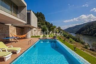 Casa para 8-9 pessoas com piscina Porto