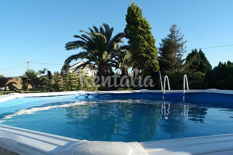 Casa en alquiler con piscina fonte boa esposende for Piscina haas e boa