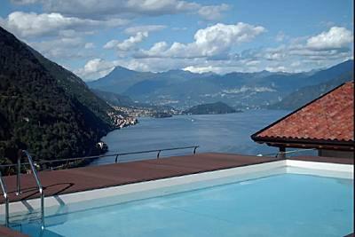 Accogliente appartamento con spettacolare vista lago Como