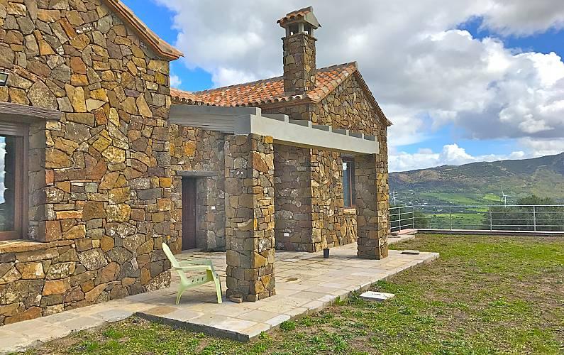 Paradise Exterior del aloj. Cádiz Tarifa Casa en entorno rural - Exterior del aloj.