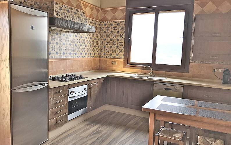 Paradise Comedor Cádiz Tarifa Casa en entorno rural - Comedor