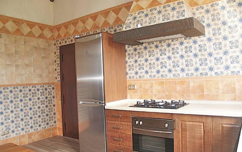 Paradise Cocina Cádiz Tarifa Casa en entorno rural - Cocina