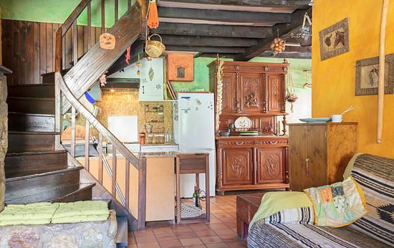 House Living-room Ariege Merens-Les-Vals Cottage - Living-room