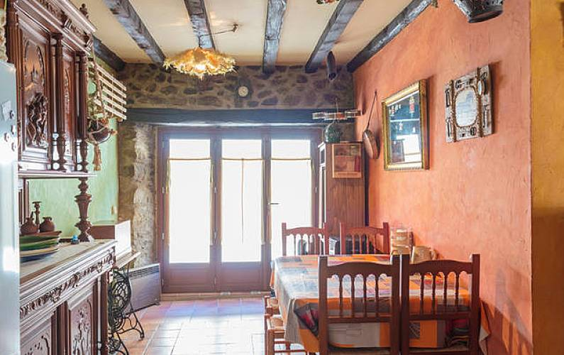 House Dining-room Ariege Merens-Les-Vals Cottage - Dining-room