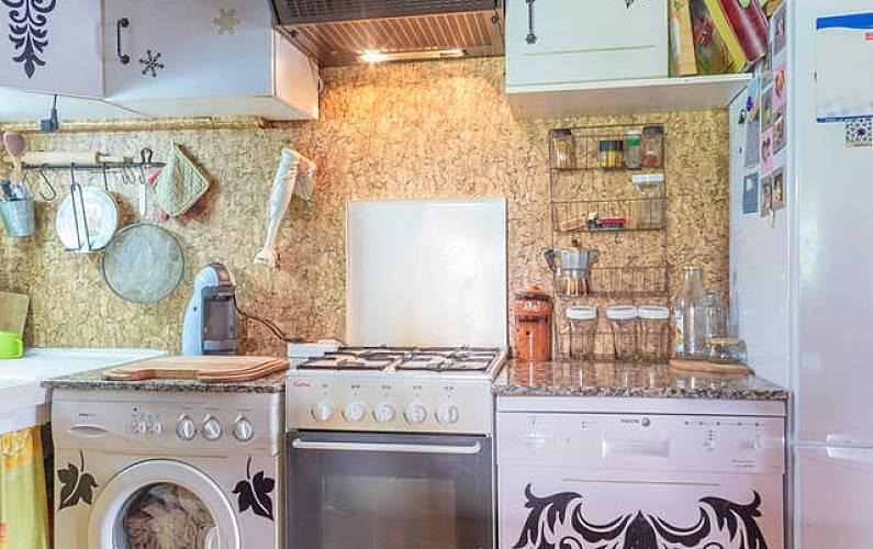 House Kitchen Ariege Merens-Les-Vals Cottage - Kitchen