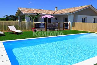Villa for rent 9 km from the beach Landes