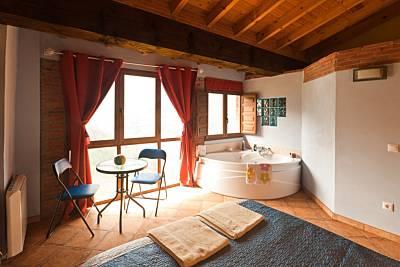 Carbayu, estupendas vistas con jacuzzi y chimenea Asturias