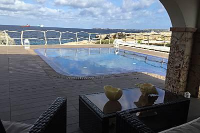 Chalet 4 Hab.1ª Línea de Mar. 300 Metros Playa  Menorca