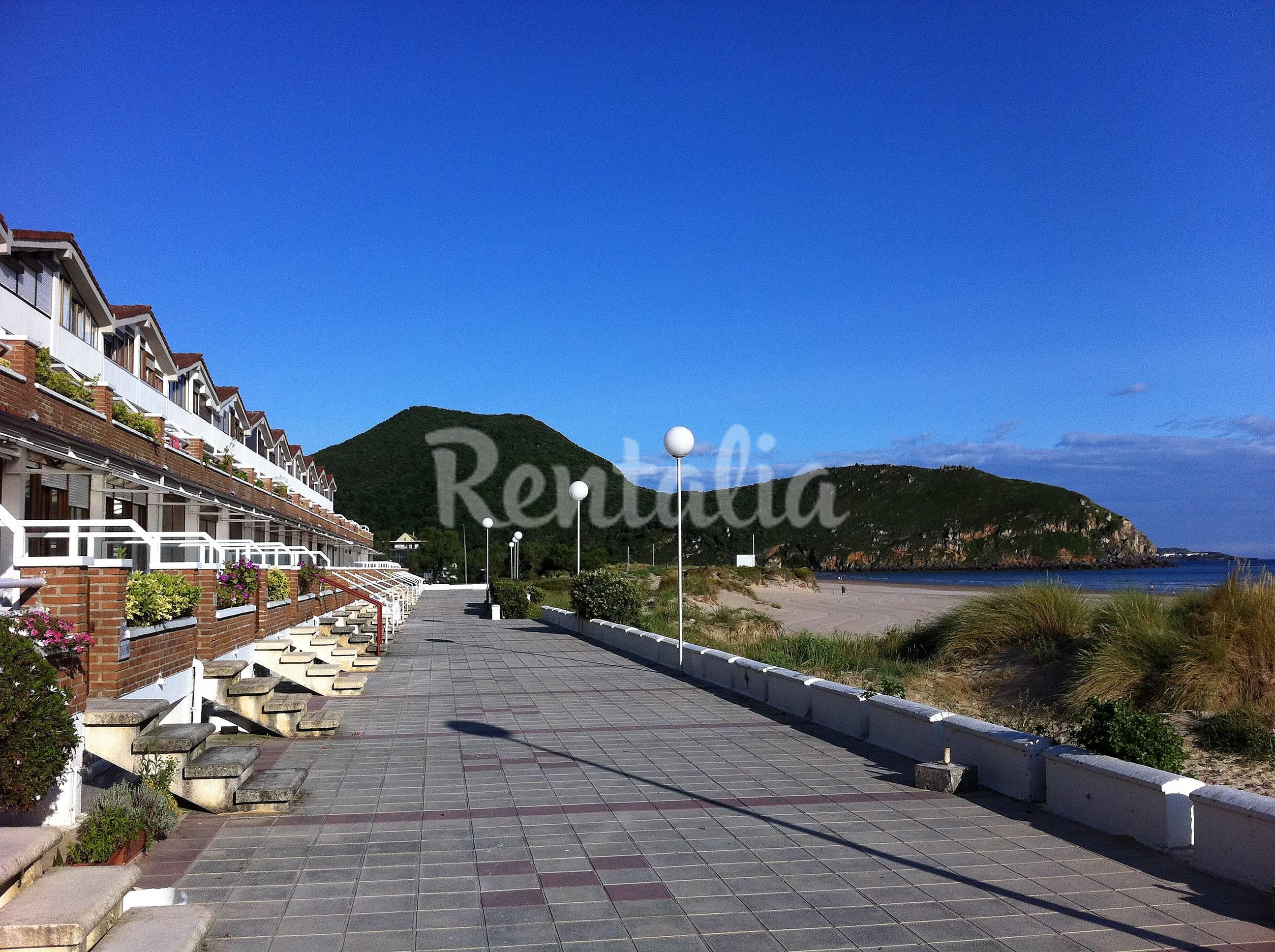 Apartamento en alquiler en 1a l nea de playa santo a cantabria costa de cantabria - Apartamentos en cantabria playa ...