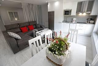 Apartamentos Playa de Ézaro con terraza y jardín A Coruña/La Coruña
