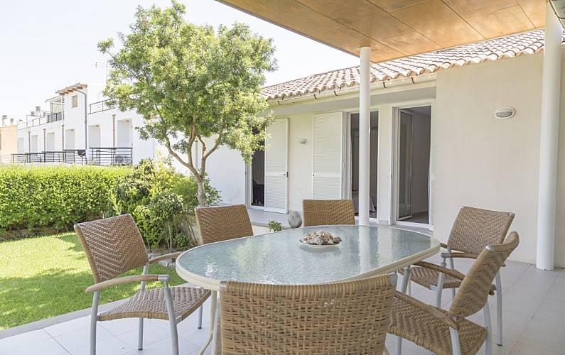 Casa 200m De La Playa Wifi Terraza Para 8 Port D Alcudia