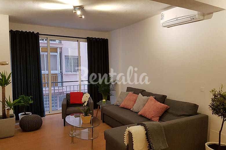 Apartamento para 4 6 personas en m laga centro m laga m laga costa del sol - Apartamento en malaga centro ...