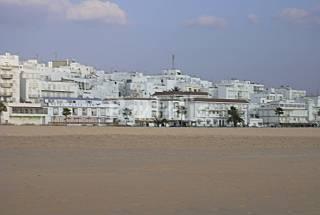 Apartamento de 2 habitaciones en 1a línea de playa Cádiz