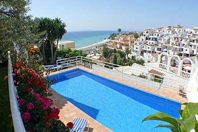 Villa con encanto, piscina privada y vistas al mar Málaga