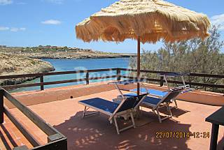 Villa for rent on the beach front line Agrigento