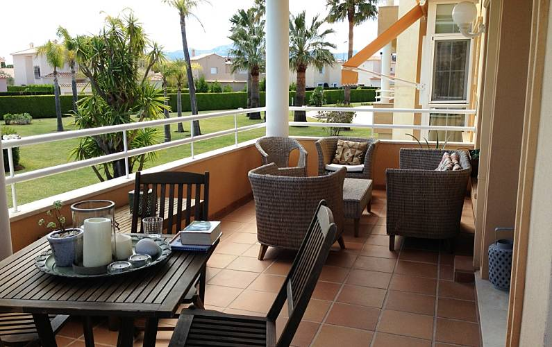 Appartamento di lusso a pochi metri dalla spiaggia Valencia - Terrazza