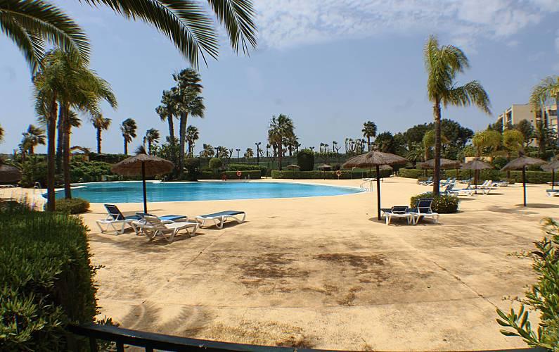 Appartement en location 25 m de la plage islantilla - Rentalia islantilla ...