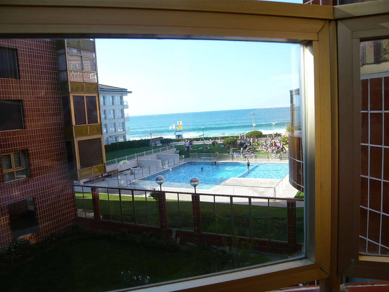 Apartamento en alquiler en 1a l nea de playa zarautz - Apartamentos en zarauz ...