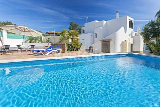 Villa for rent only 800 meters from the beach Ibiza