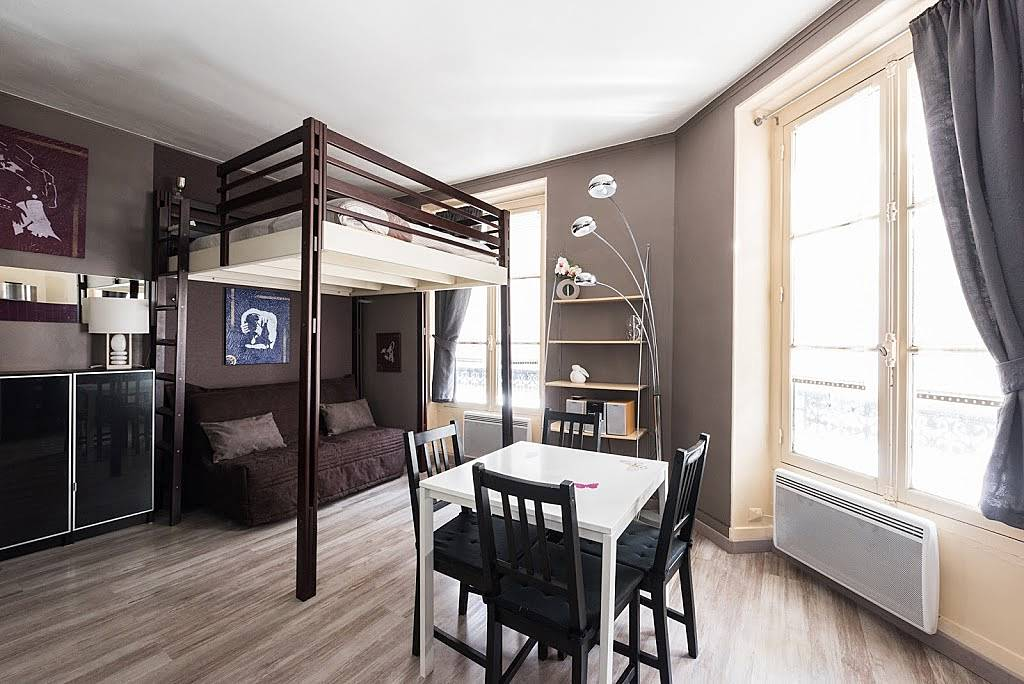 wohnung f r 3 personen in paris paris 3e paris paris. Black Bedroom Furniture Sets. Home Design Ideas