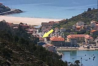 Apartamento para 4 personas a 100 m de la playa A Coruña/La Coruña